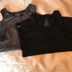 Athletic workout tanks